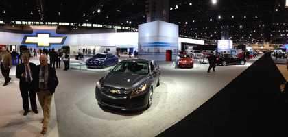 The Chevrolet display.