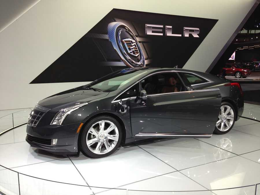 The Cadillac ELR.