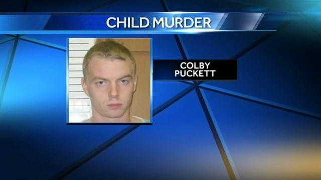 Colby Puckett accused of killing child