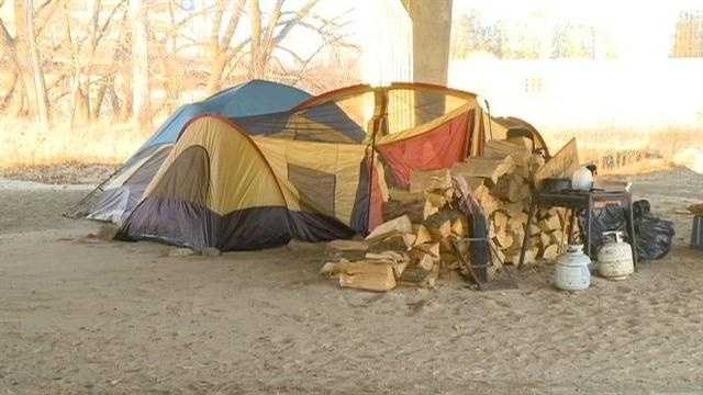After winning the most recent round in the battle to stay living in their camps, on Tuesday homeless residents of Des Moines celebrated the victory.
