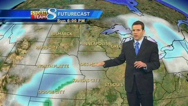KCCI Meteorologist Wes Callison's forecast for Iowa.
