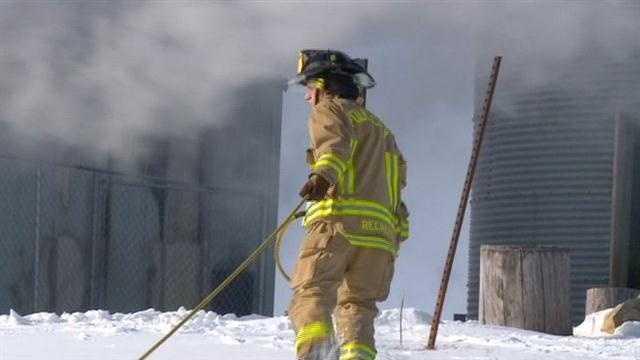 Polk City Barn Fire image