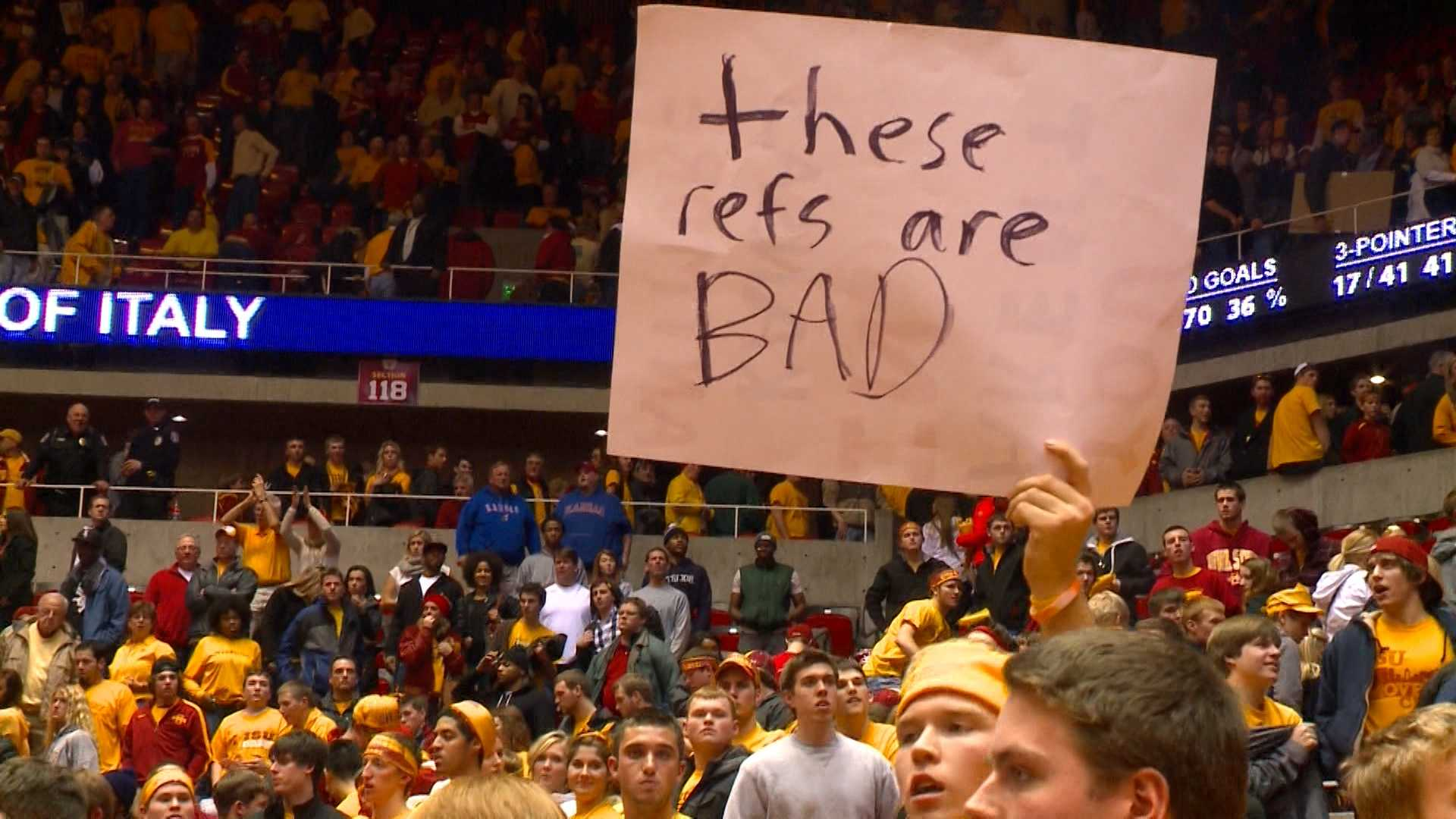 A Cyclone fan expresses his view of ISU-Kansas outcome