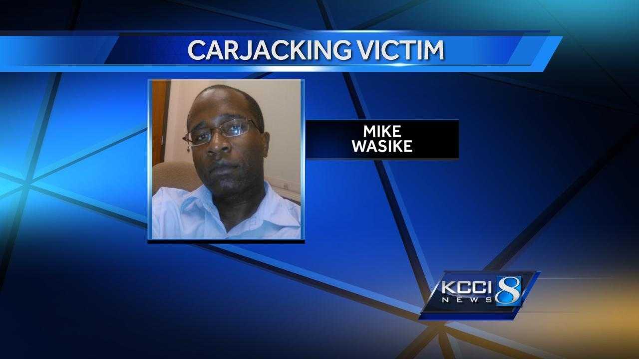 Mike Wasike Carjacking