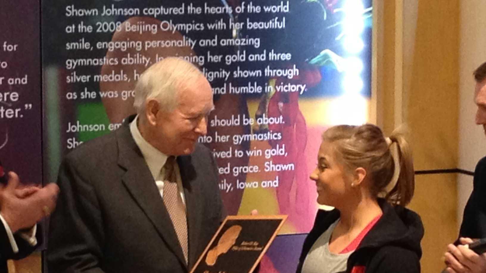 Shawn johnson award