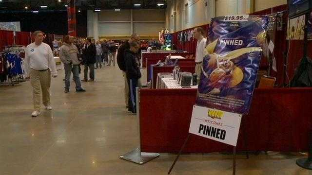 Thousands of wrestlers and fans are in central Iowa, where organizers are rolling out a fan-friendly event before the big NCAA matches.