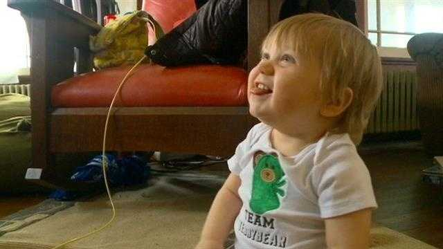 Teddy Reid toddler kidney