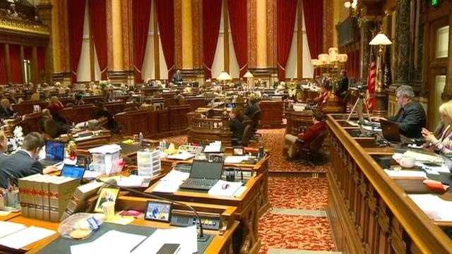 The first vote on Medicaid expansion in Iowa stirred up heated debate in the Iowa Senate.