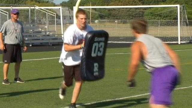 New guidelines are issued for high school football practices.