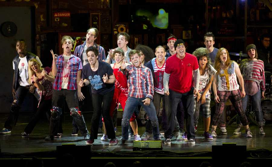 """AMERICAN IDIOT (January 24 and 25, 2014): The New York Times calls AMERICAN IDIOT """"thrilling and emotionally charged, as moving as anything on Broadway!"""" Based on Green Day's groundbreaking rock opera of the same name, this daring new musical tells the story of three lifelong friends, forced to choose between their dreams and the safety of suburbia, and features the smash hit Boulevard of Broken Dreams."""