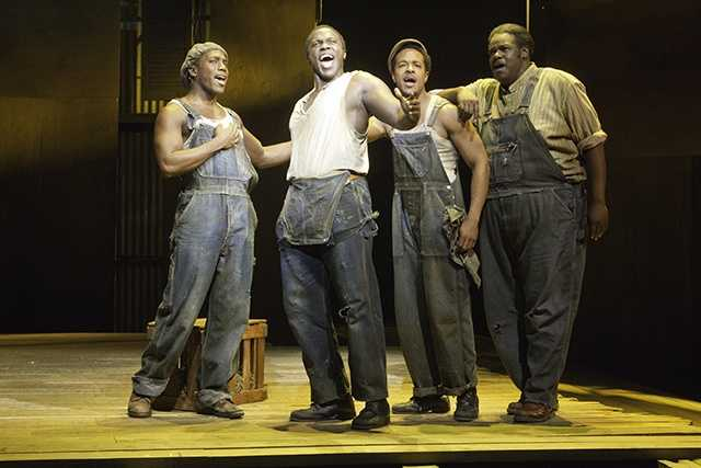 """PORGY AND BESS (April 1-6, 2014): See what Time Magazine hails as, """"The No. 1 Broadway musical of the year."""" Winner of the 2012 Tony Award for Best Revival of a Musical, THE GERSHWINS' PORGY AND BESS is hitting the road in a stunning and stirring new staging, including such legendary songs as Summertime, It Ain't Necessarily So, and I Got Plenty of Nothing. THE GERSHWINS' PORGY AND BESS triumphs as one of theater's most exhilarating love stories."""