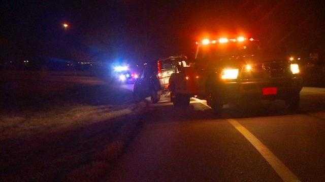 Rollover crash closes interstate ramp