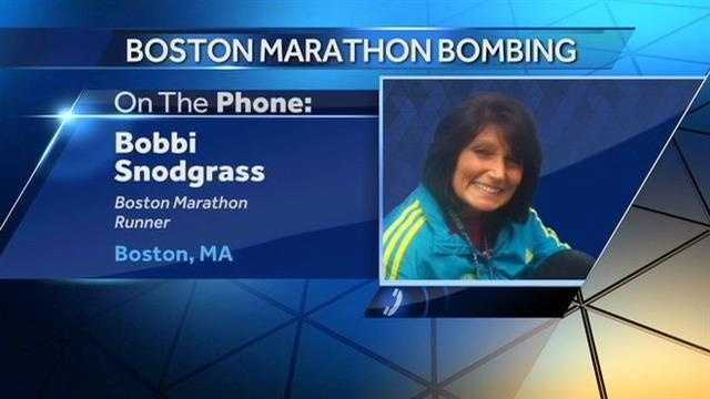 Iowans share their stories from the Boston Marathon explosions.