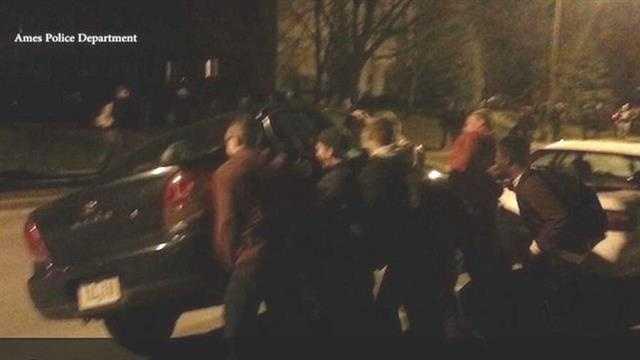 VEISHEA celebration marred by vandalism, flipped cars