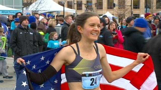 The USA 1-Mile Road Race Championship was on the line Tuesday evening in Des Moines