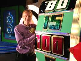 Eric Hanson gives you a sneak peek at the set of The Price Is Right stage show in Des Moines.