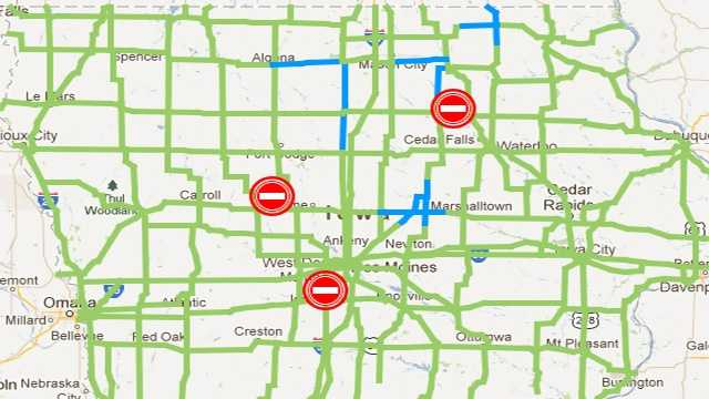 Road Conditions 1245