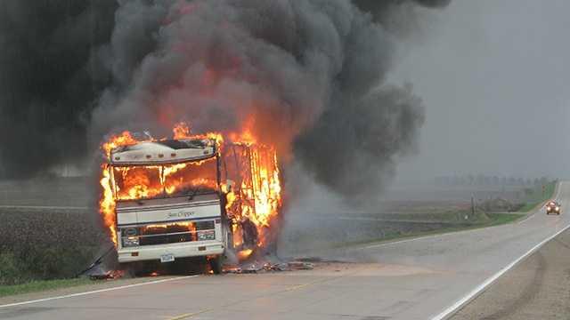 Mobile fire