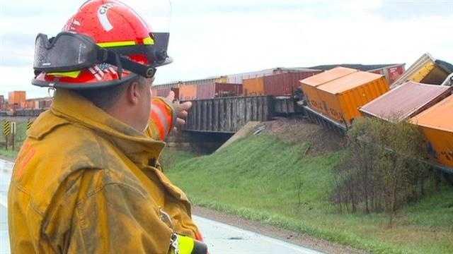 Train crash derailment 3