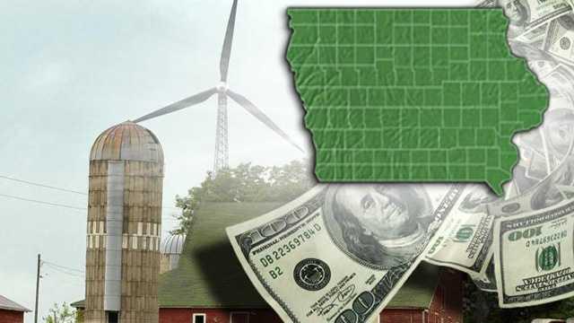 Wind energy money