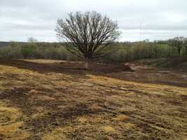 Site for the new amphitheater.
