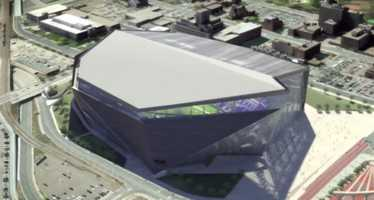 It will replace the 31-year-old Metrodome, which the Vikings will vacate after the 2013 season. They'll play outside at the University of Minnesota's TCF Bank Stadium for two years while the new venue is under construction.