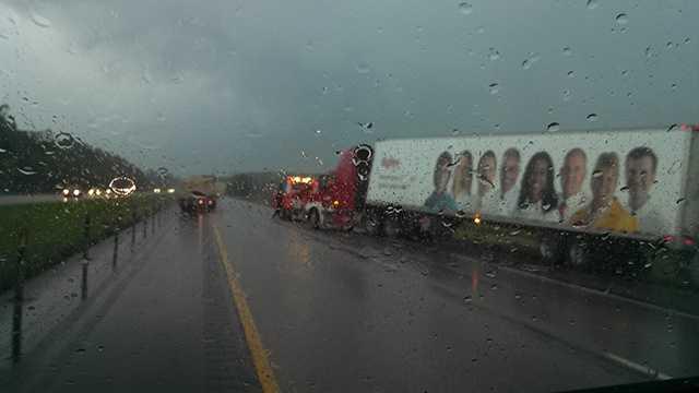 Crash near Ames on Interstate 35.