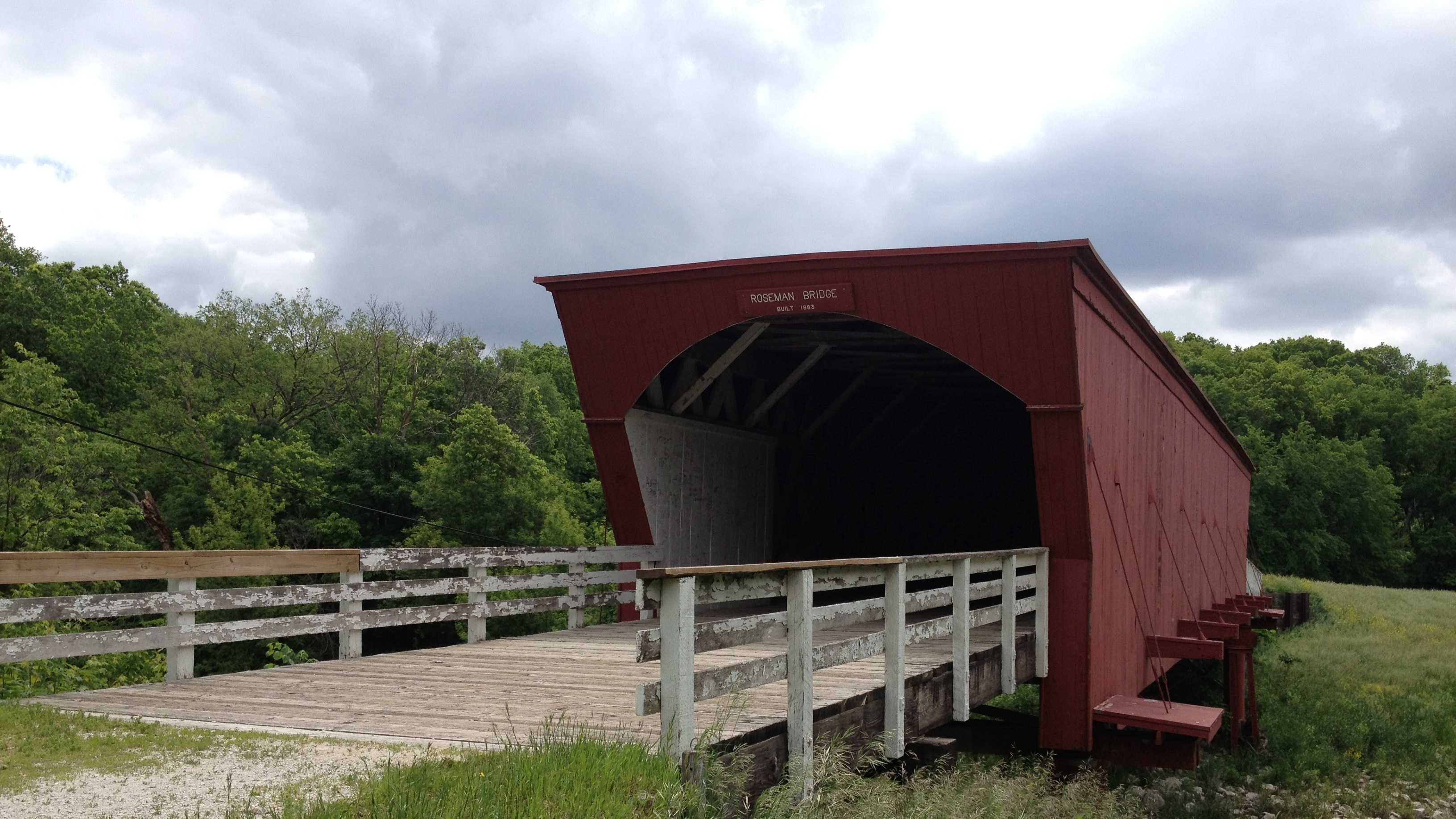 Roseman Bridge in Madison County, Iowa