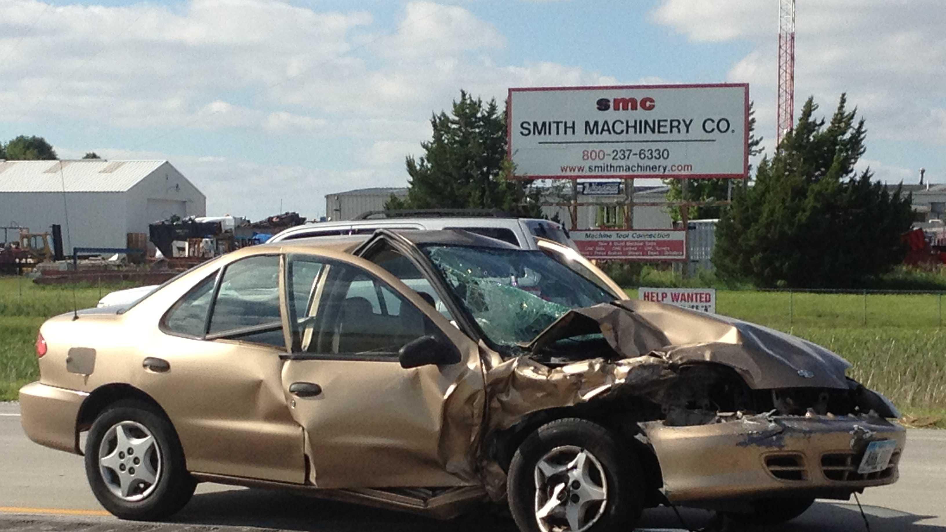 Crash highway 30