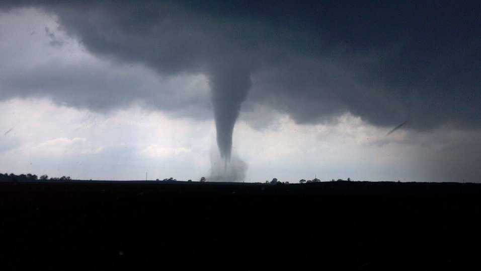 Tornado near Belmond, Iowa, on June 12.