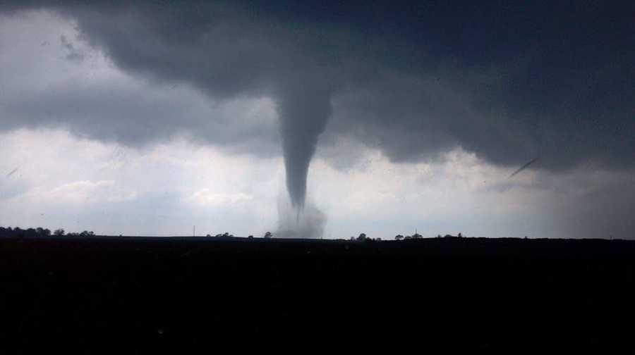 Tornado near Belmond, Iowa, on June 12.