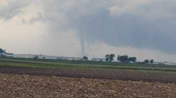 Tornado near Hampton, June 12.