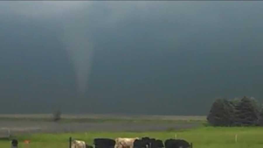 Tornado near Belmond, Iowa.