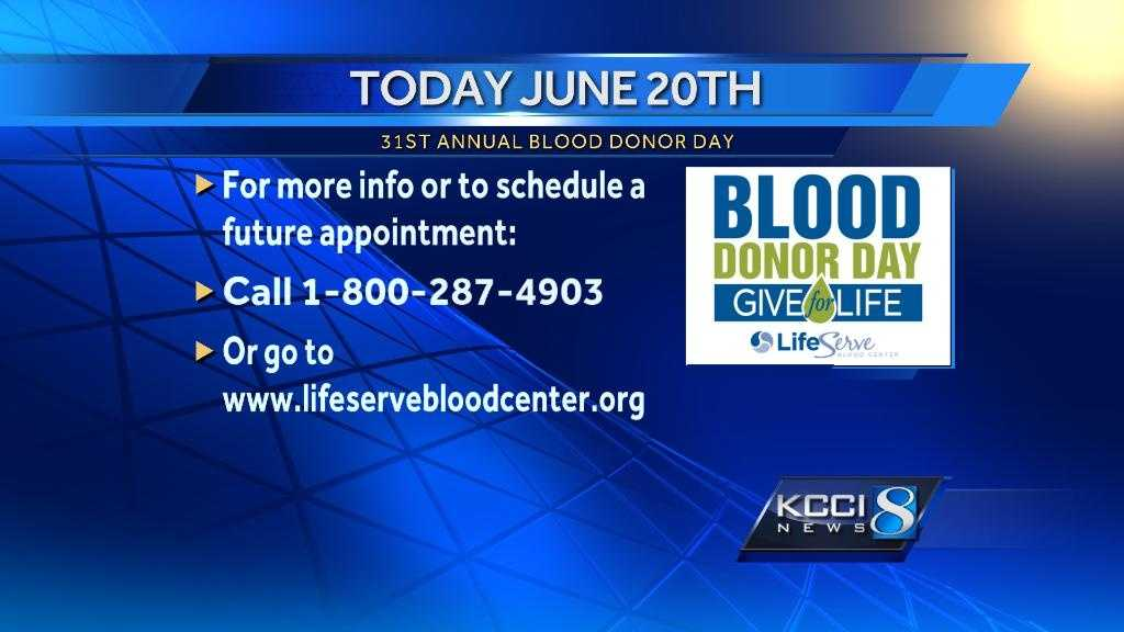 Blood Donor Day graphic