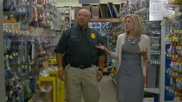State Fire Marshal Ray Reynolds and KCCI's Laura Nichols show you some products that can help parents prevent their children from falling out windows.