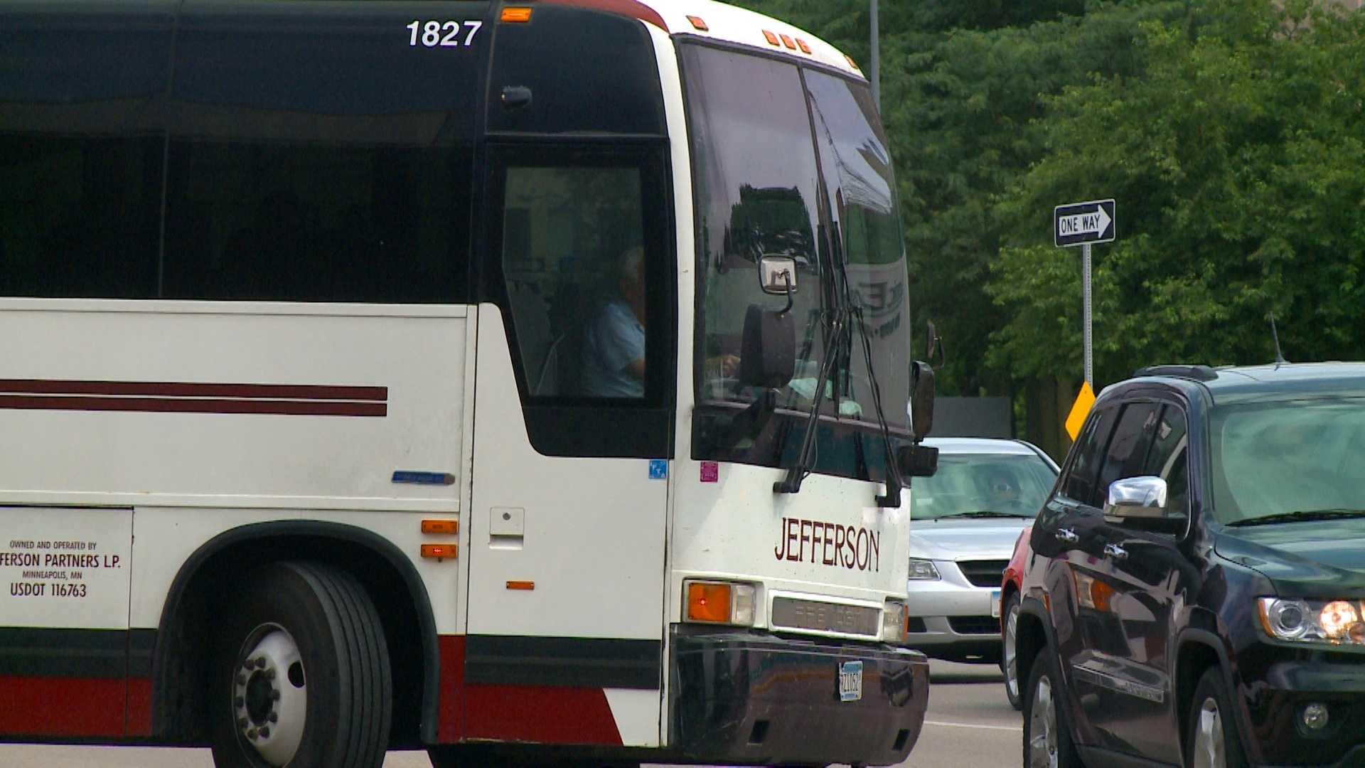 Jefferson line bus