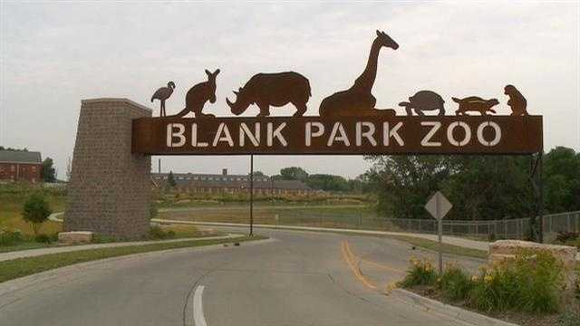 Blank Park Zoo in Des Moines