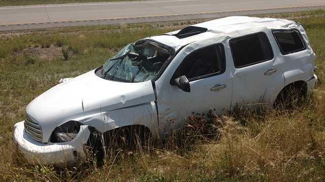 Crash highway 30 ames