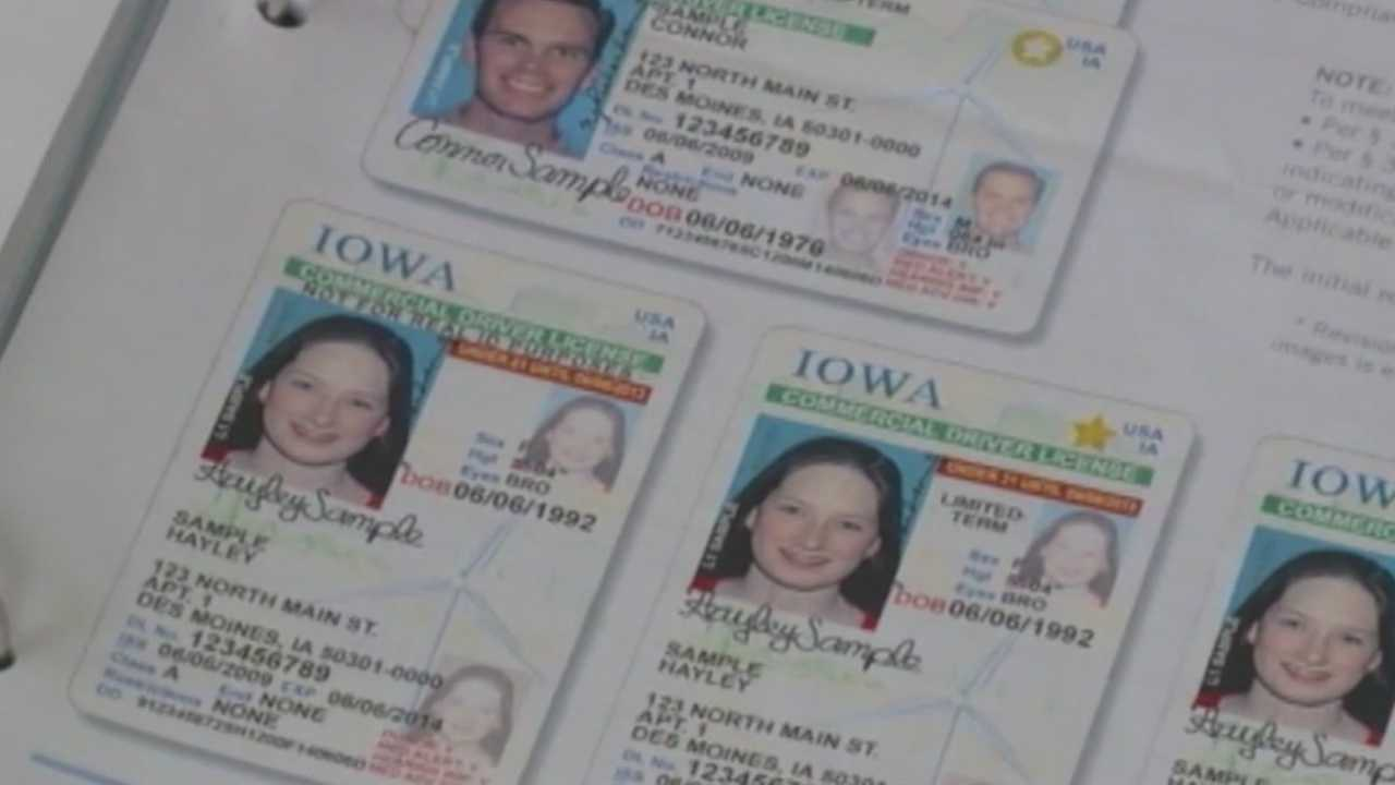 Iowa starts offering some drivers license renewals online.