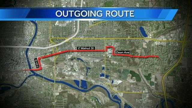 Outgoing route