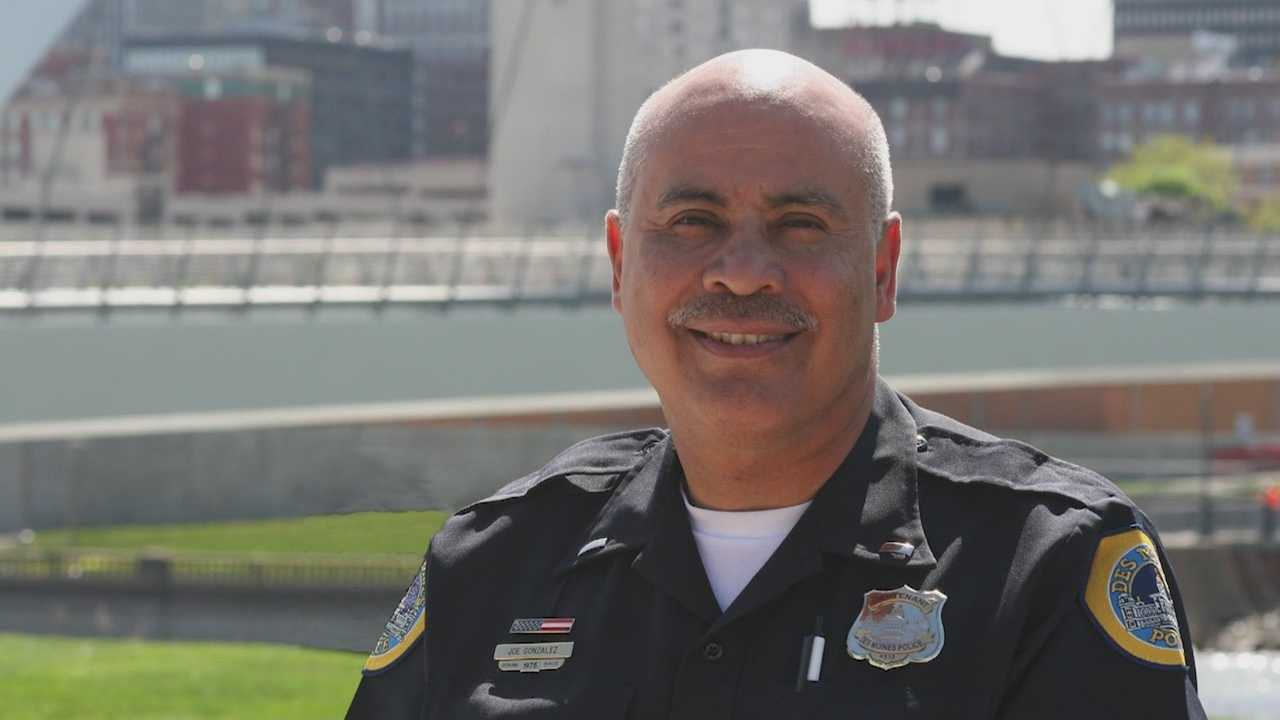 Lt. Joe Gonzalez suffered 13 broken ribs and two collapsed lungs.