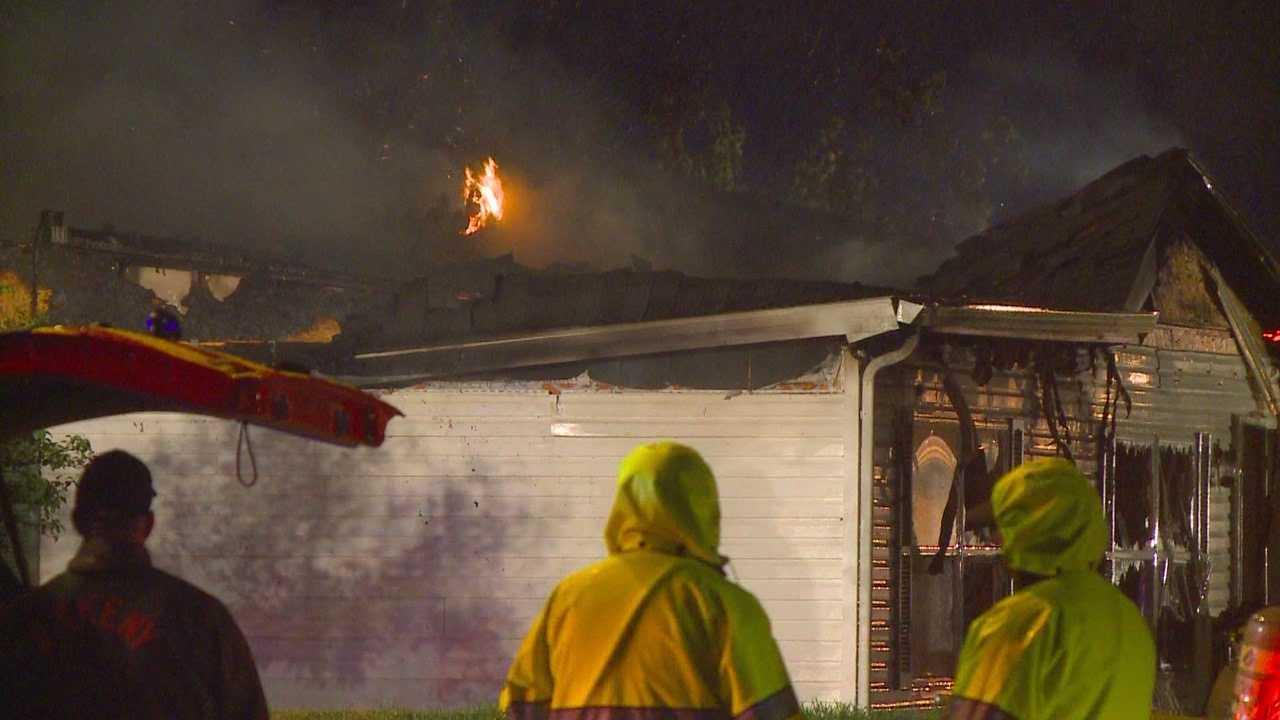 A fire forced two Ankeny families from their homes overnight.