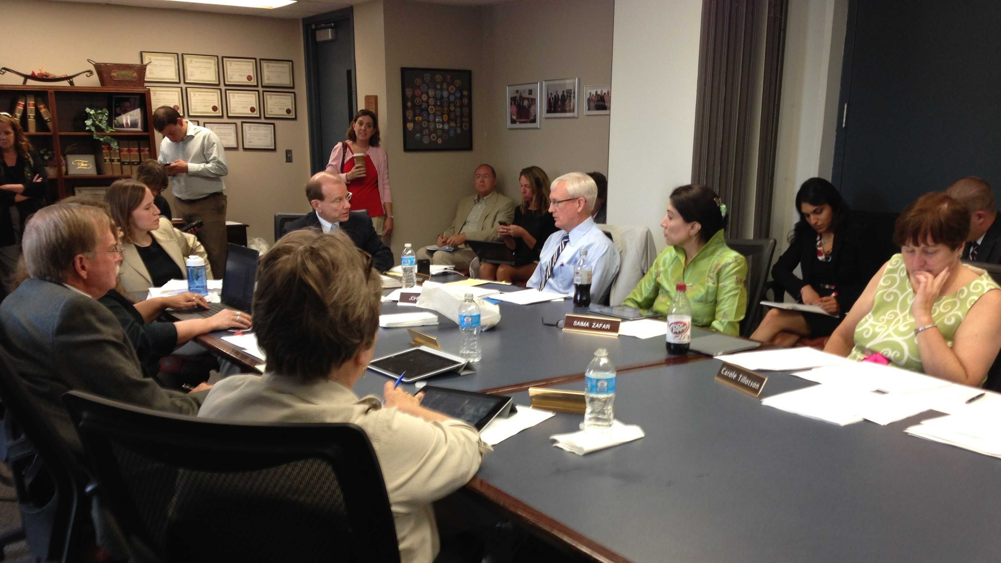 Iowa Ethics and Campaign Disclosure Board meeting on Aug. 8.