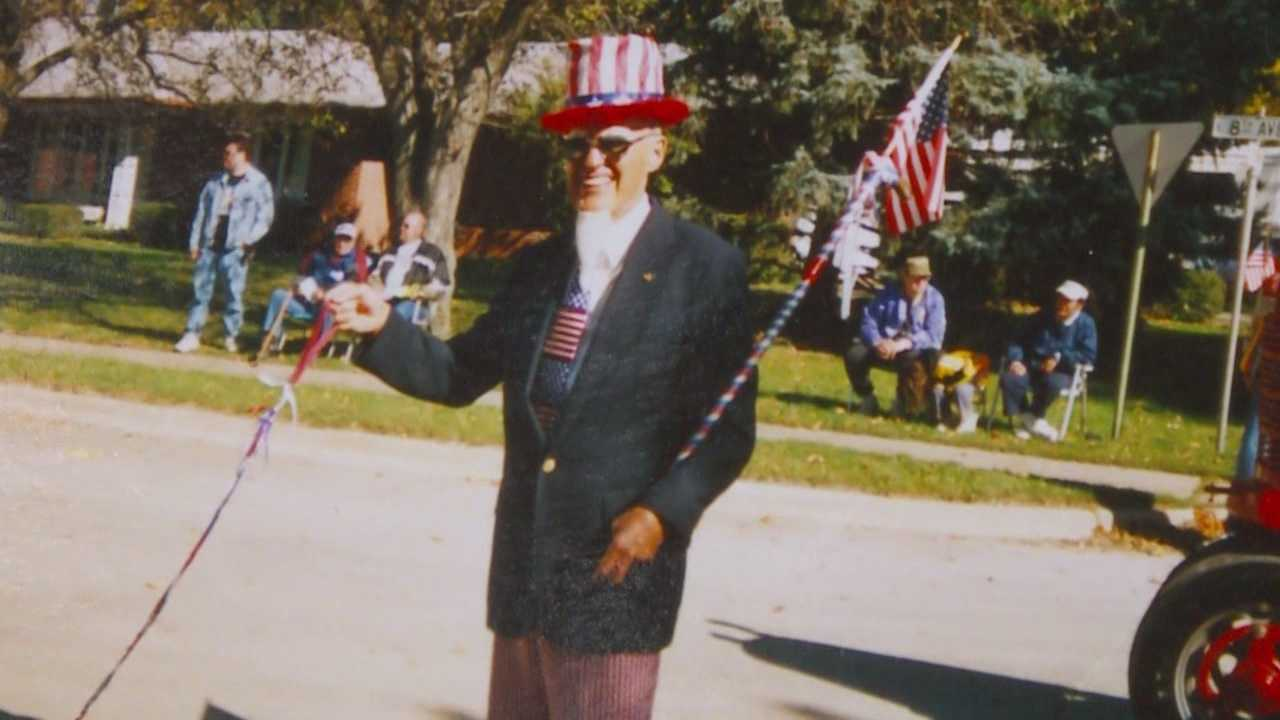 Jerry Triplett marched in Wednesday's State Fair parade downtown, but he didn't make it home. His family said he died doing what he loved.