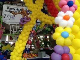 Iowa State Fair Cultural Center's balloon exhibit