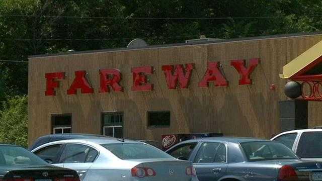 Fareway sign