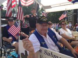 Veterans Parade at the Iowa State Fair