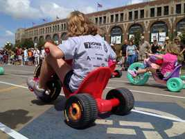 Iowa State Fair big wheel races