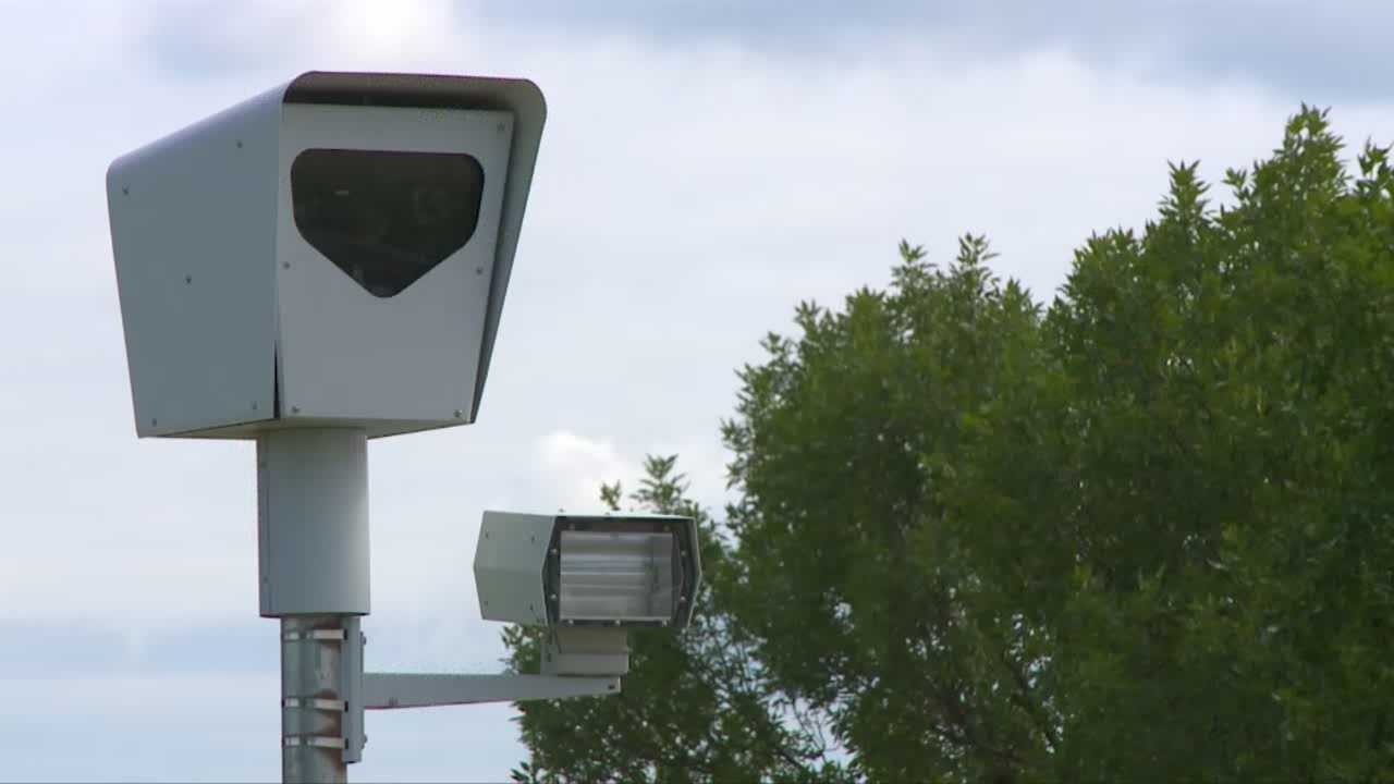 Automated traffic enforcement camera