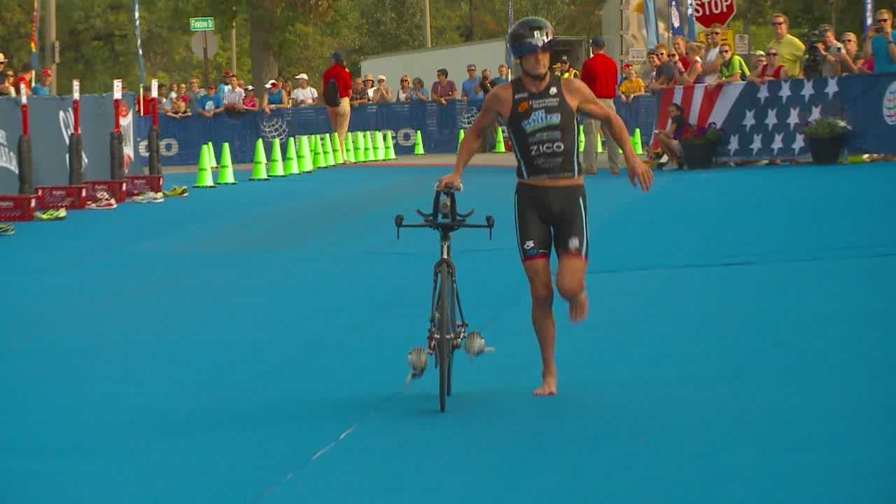 The seventh annual Hy-Vee Triathlon is this Sunday in the Des Moines metro.